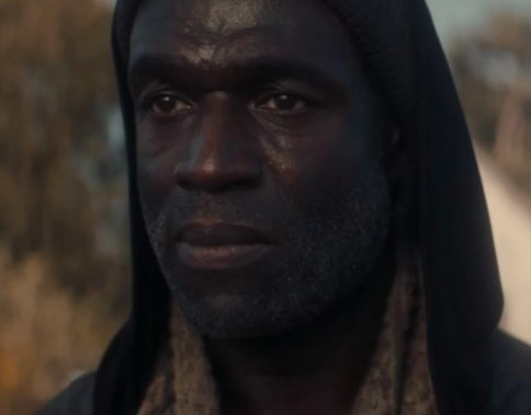 Close up of Steve Toussaint in Doctor Who