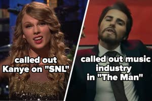 She called out Kanye in SNL
