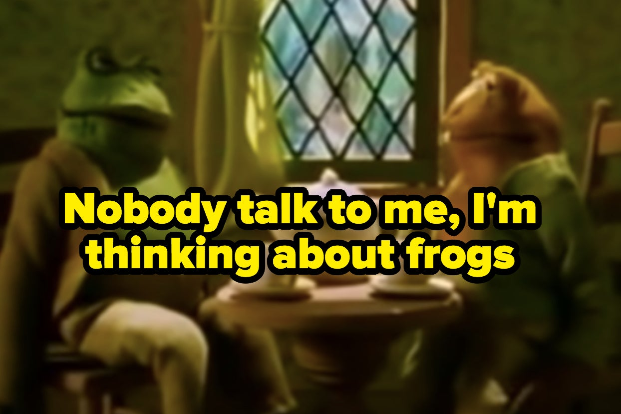 16 Tumblr Posts About Frogs That Honestly Saved My Mental Health This Week