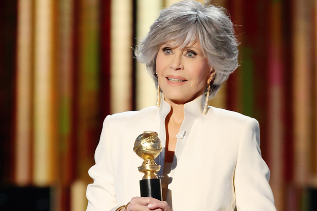 Jane Fonda Chose To Celebrate Other People During Her Golden Globes Speech And Everyone Loved It – BuzzFeed