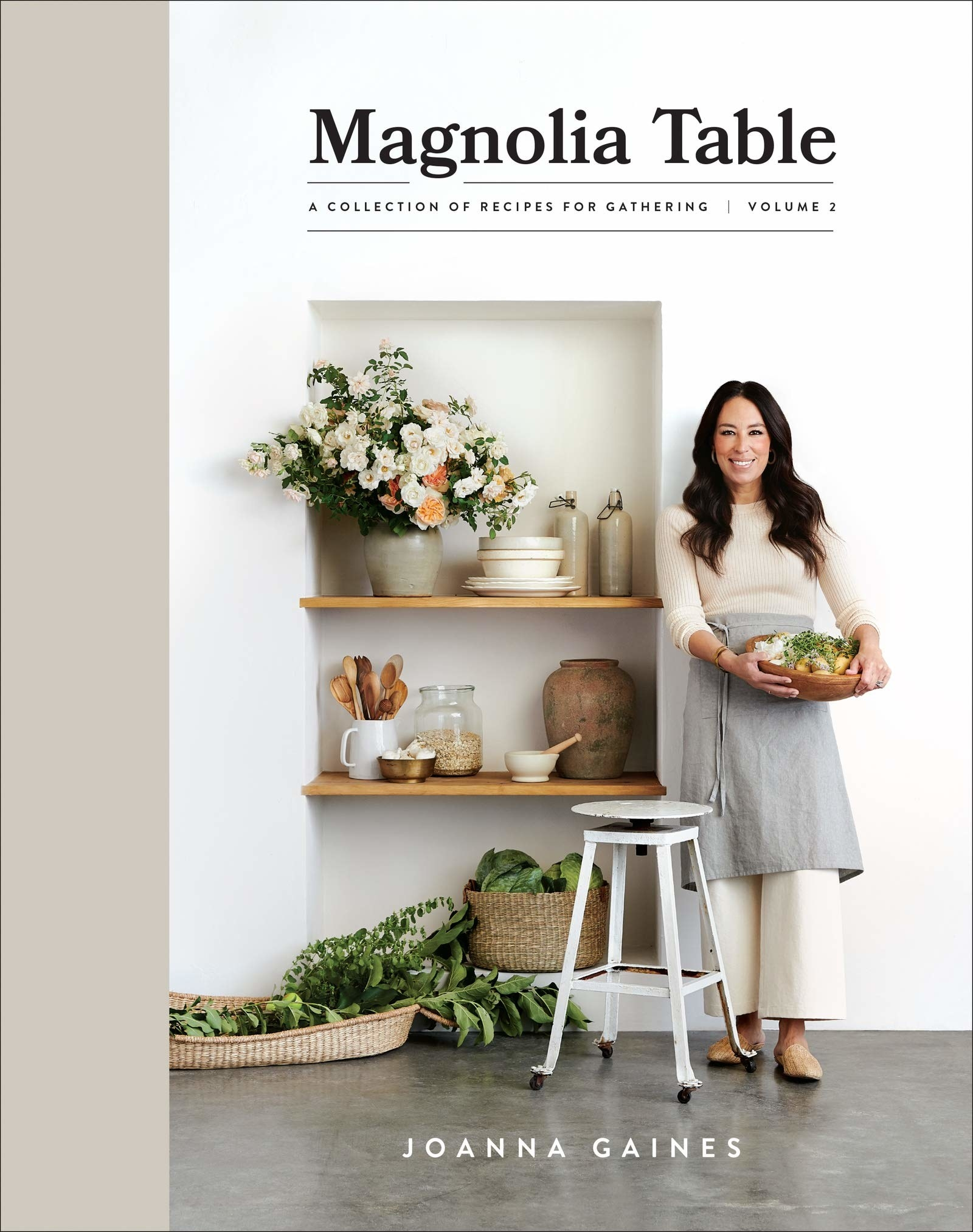 joanna gaines on the cover of her book