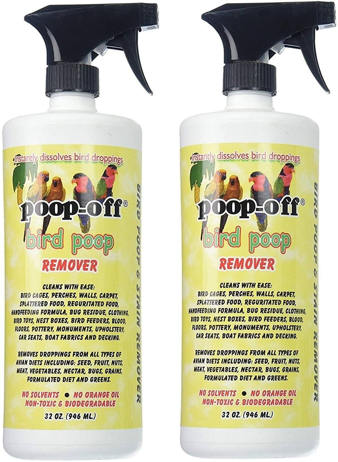The bird dropping remover