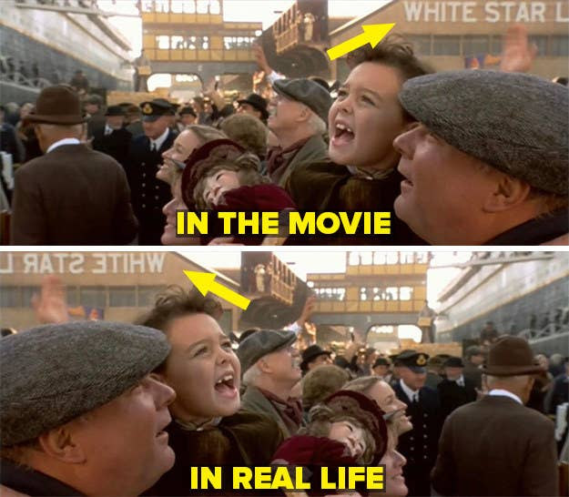 Adegan dari film dibalik untuk menunjukkan seperti apa sebenarnya itu saat mereka syuting