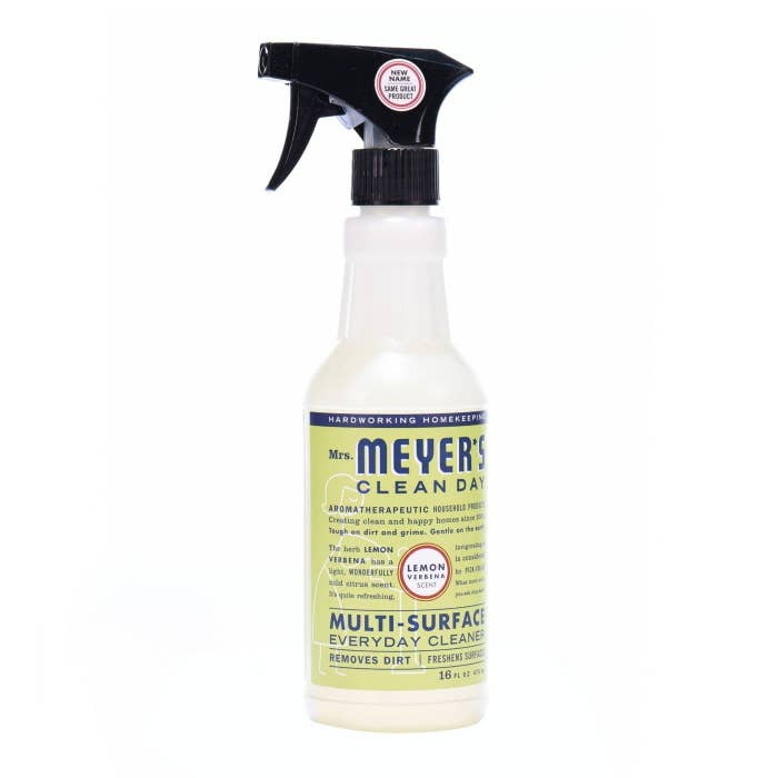 A bottle of multi-surface cleaner