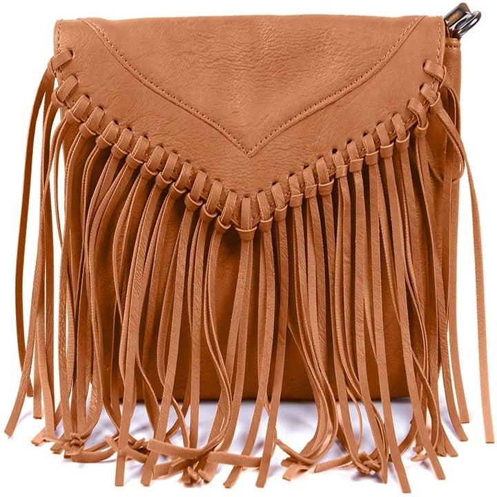 The same bag in tan