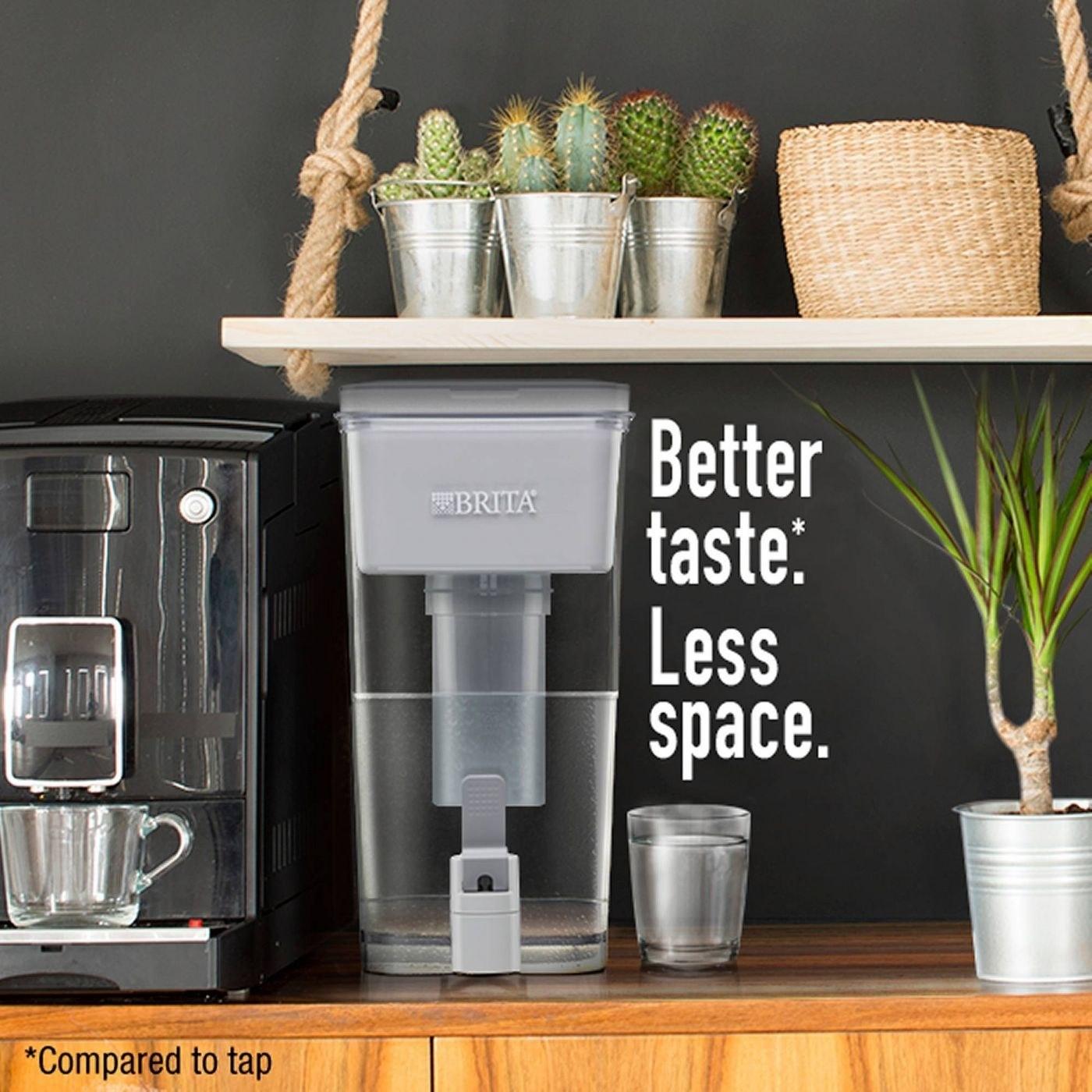 A brita filter jug in a home