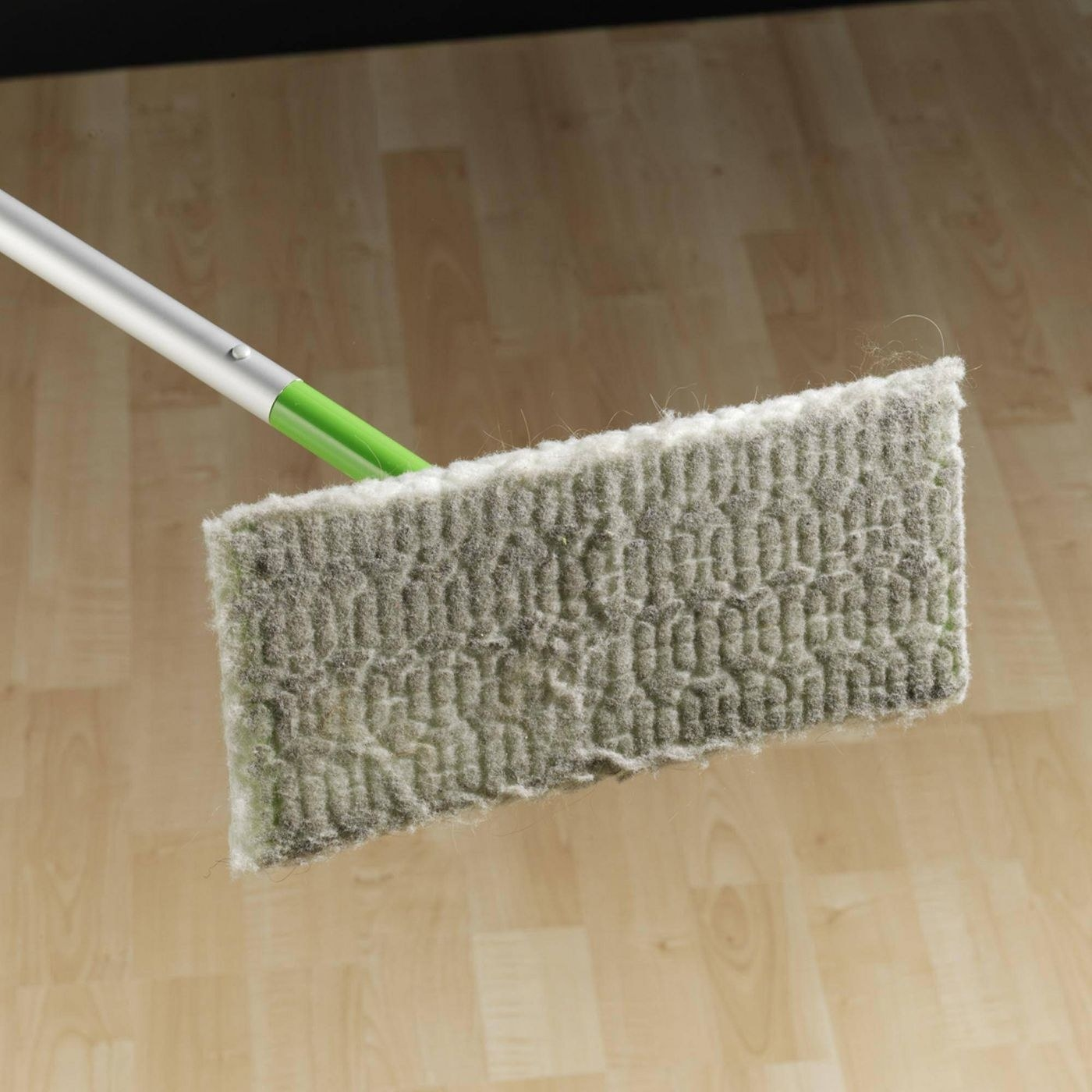 A dirty swiffer pad in a home