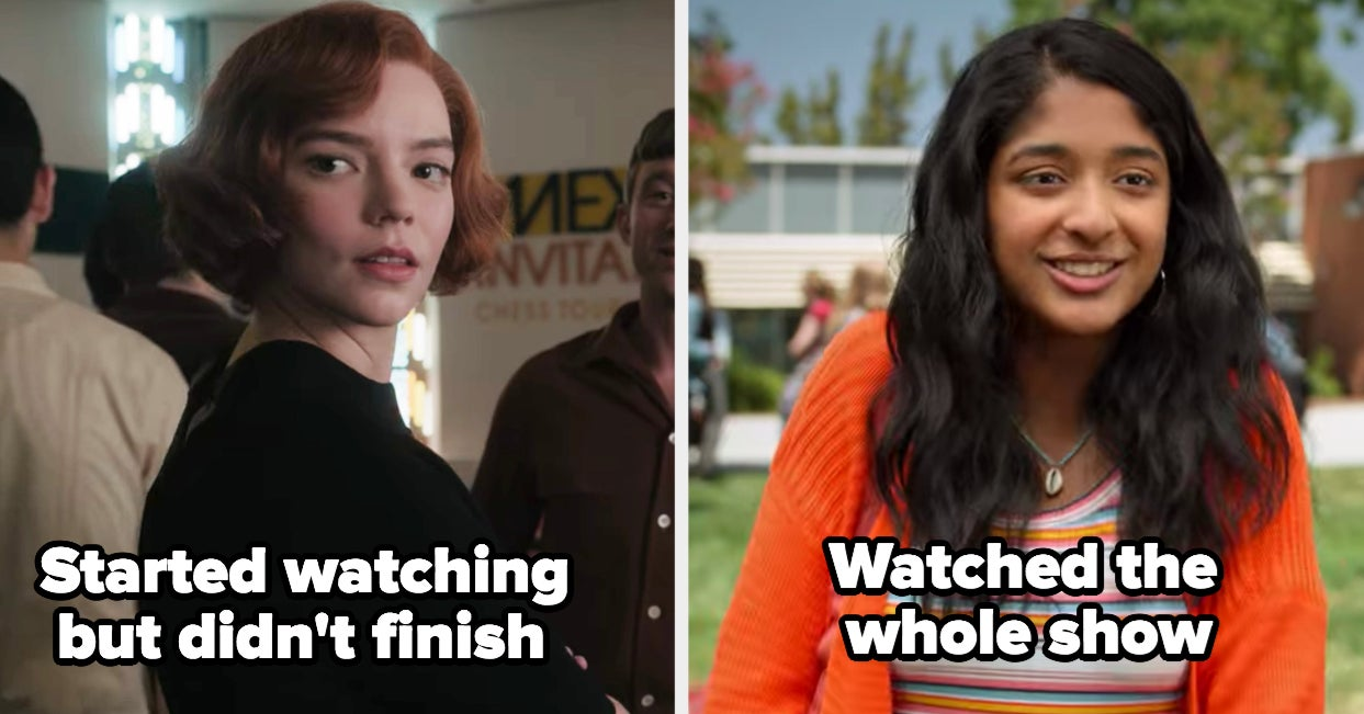 I Am Genuinely Curious If You Finished Watching These Top-Ranked Netflix Shows Of 2020 - buzzfeed