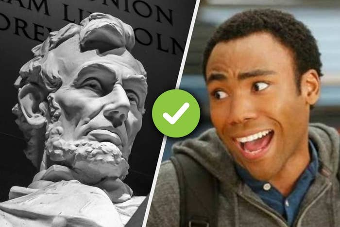 """Lincoln memorial and Troy from """"Community"""""""