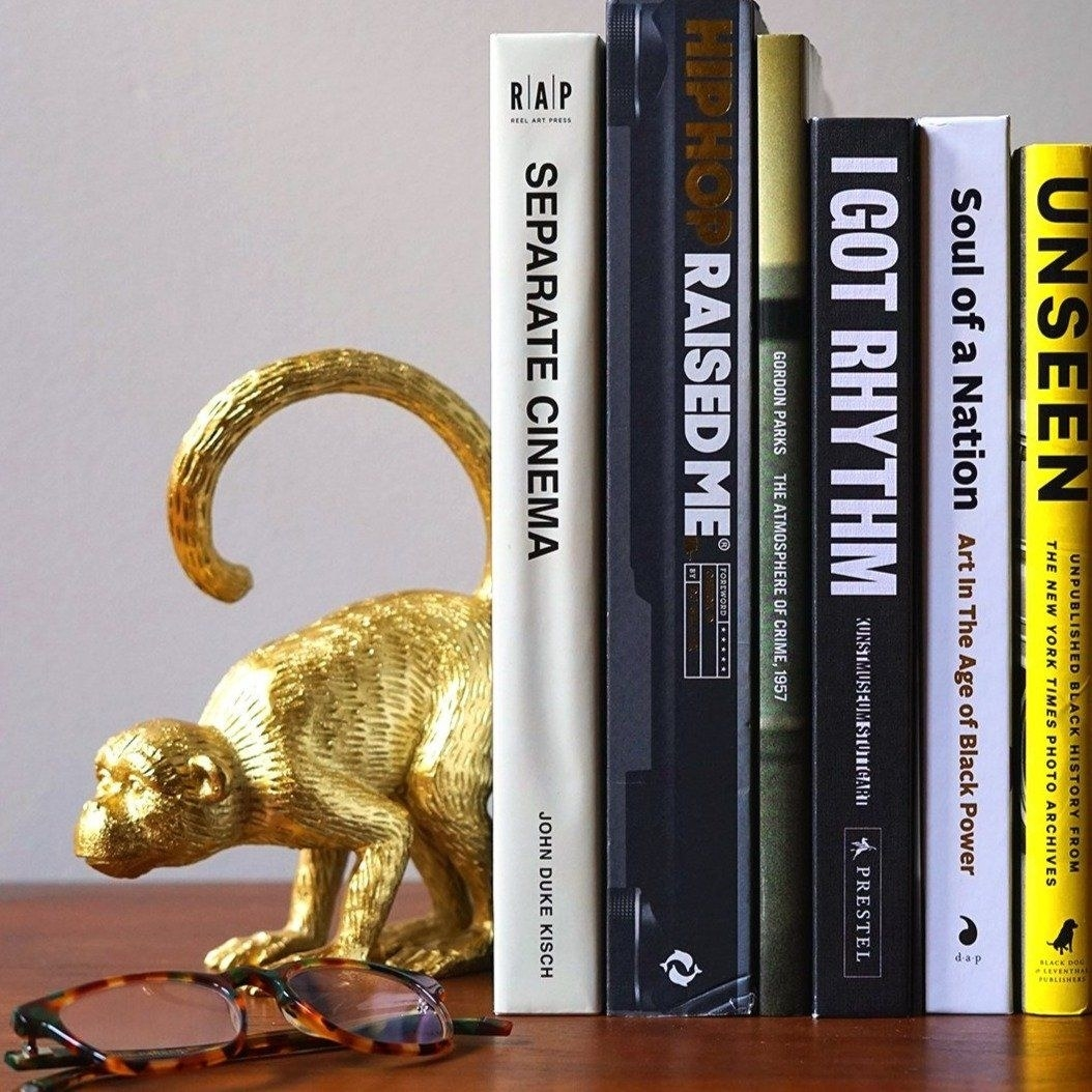 The monkey bookends