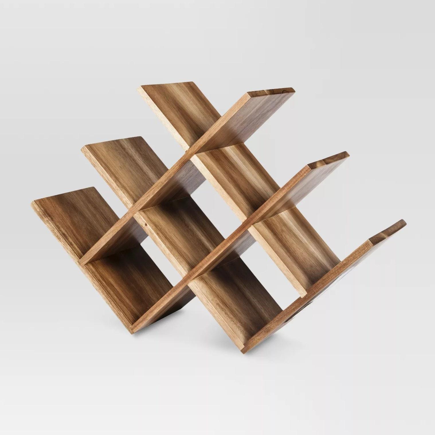 The wood rack