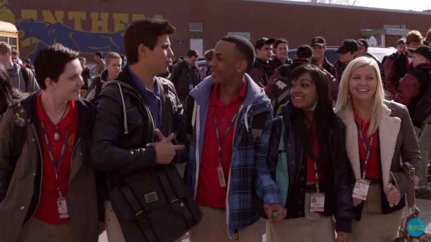 """Dave and his friends on """"Degrassi"""""""