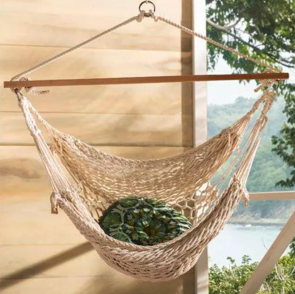 The hammock chair