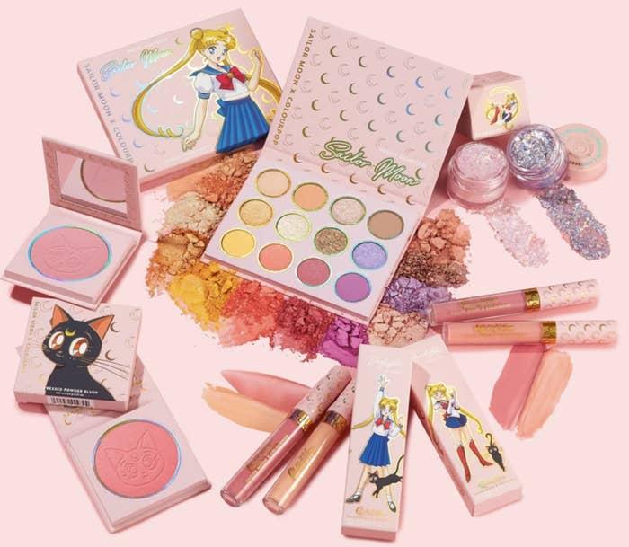 sailor moon colour pop makeup collection