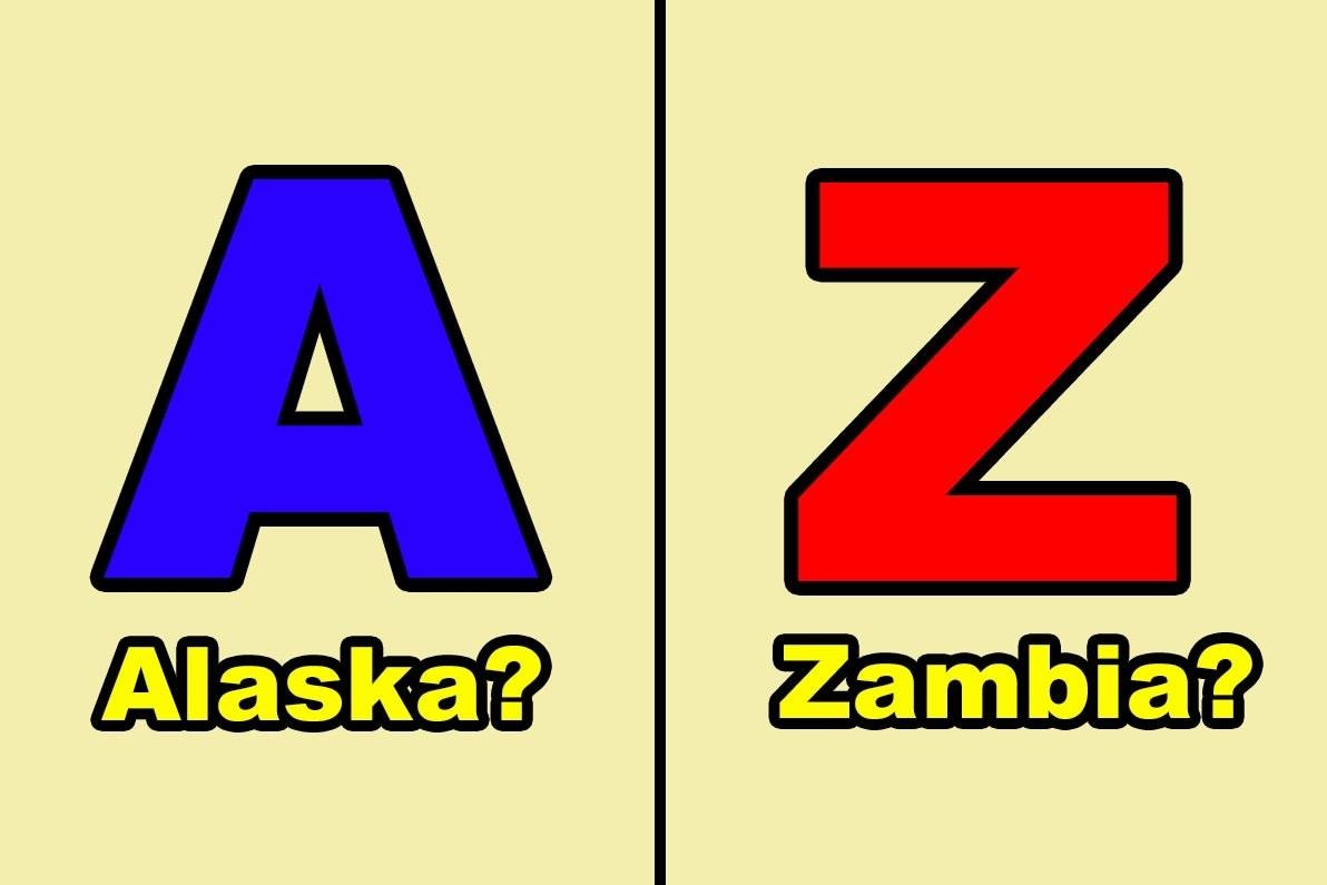 Alaska and Zambia