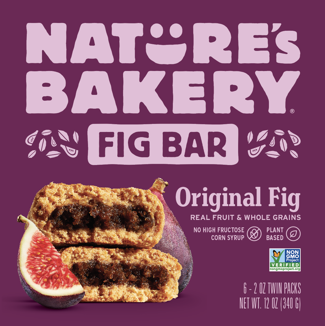 A box of Nature's Bakery fig bars