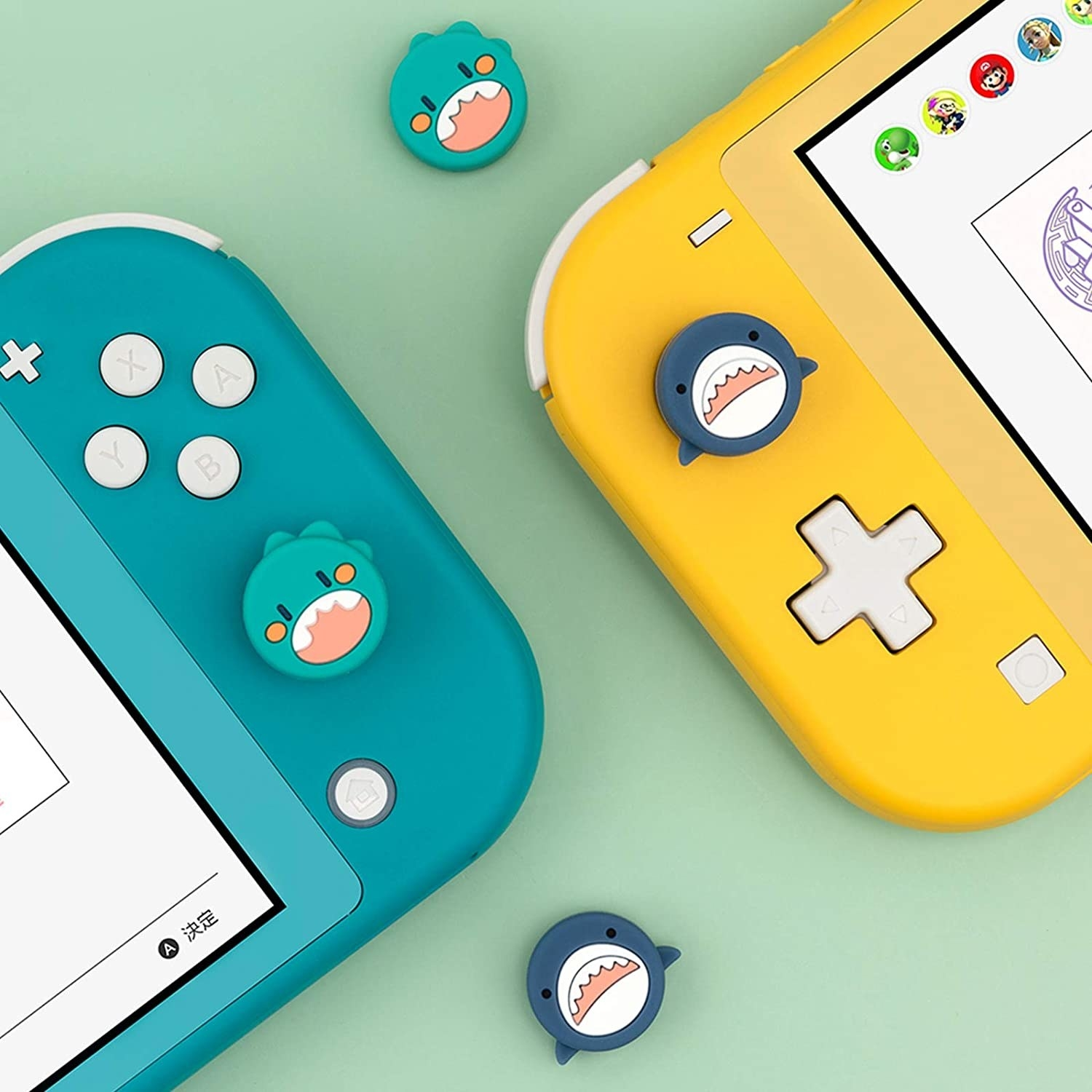 The thumb grips attached to switches