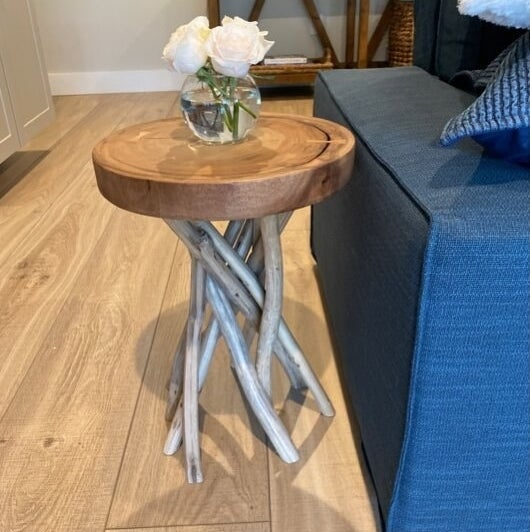 Review photo of the natural end table