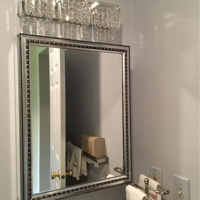 Review photo of the medicine cabinet