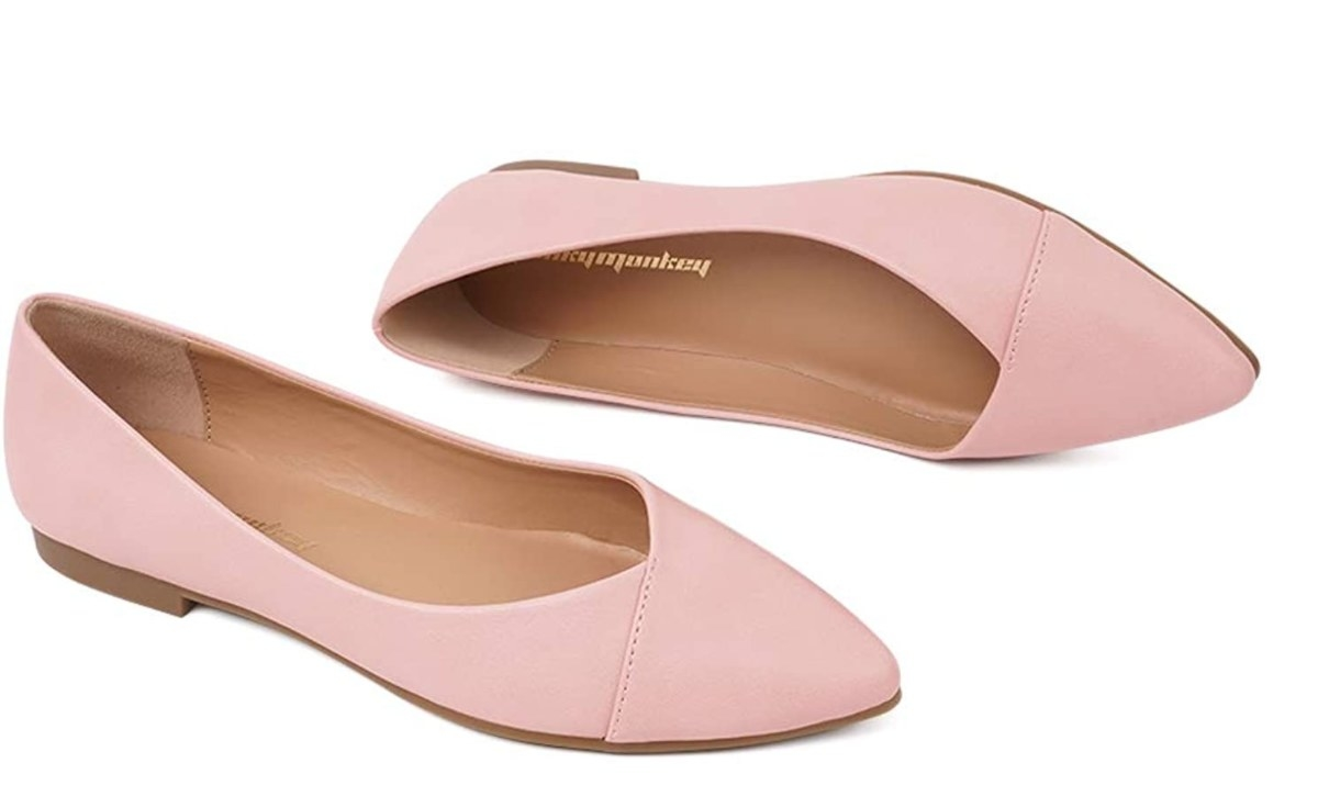 The flats in pink