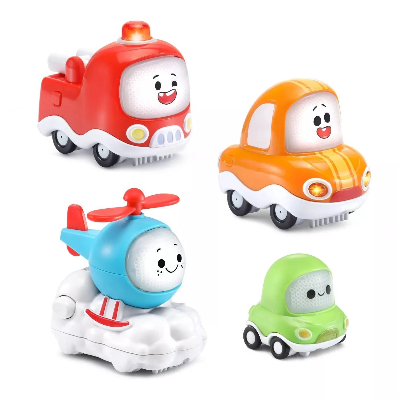 the four-piece toy set