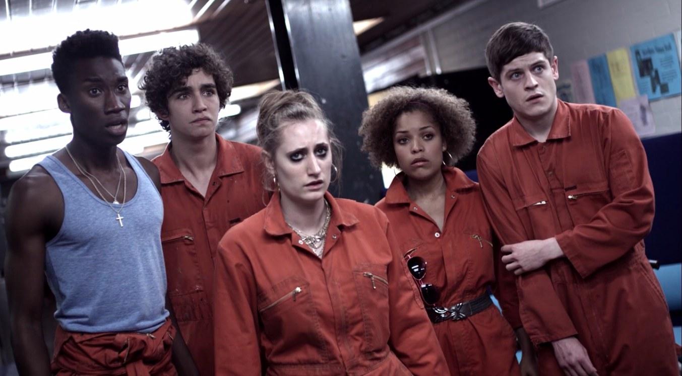 The original cast of Misfits