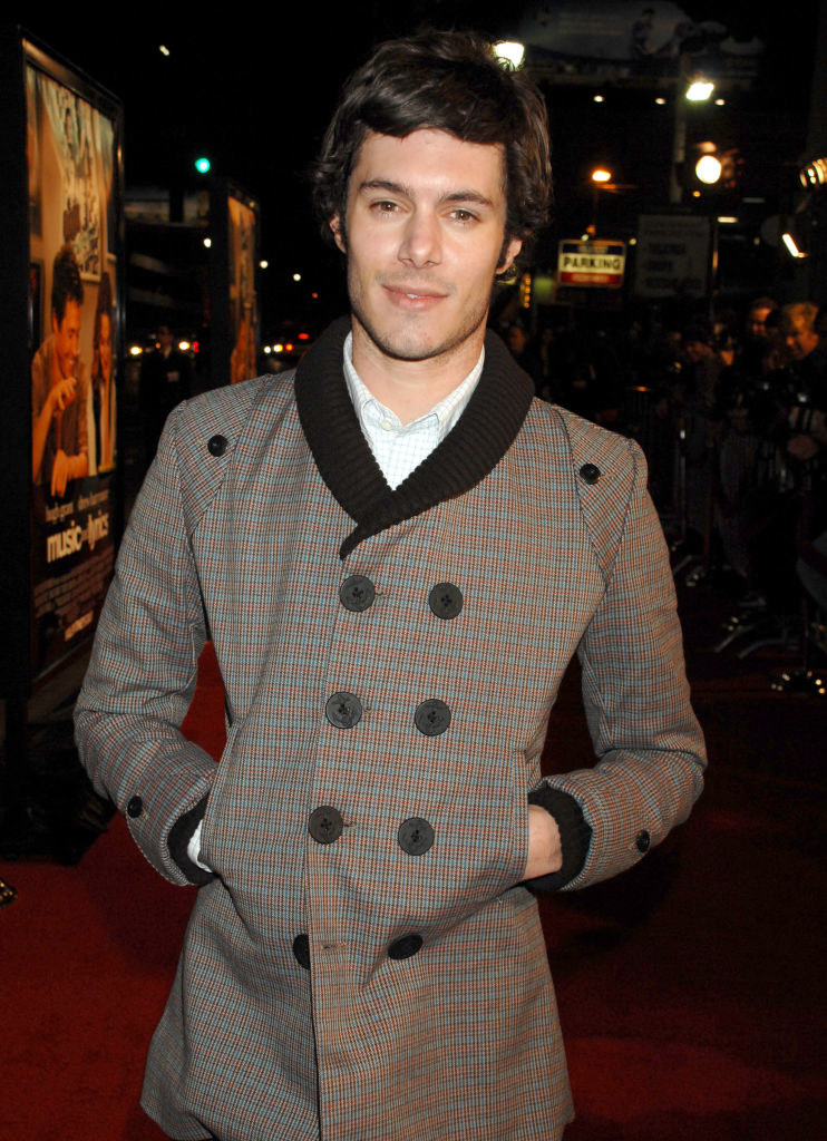 """Adam Brody during """"Music and Lyrics"""" Los Angeles Premiere and Red Carpet at Grauman's Chinese Theater"""