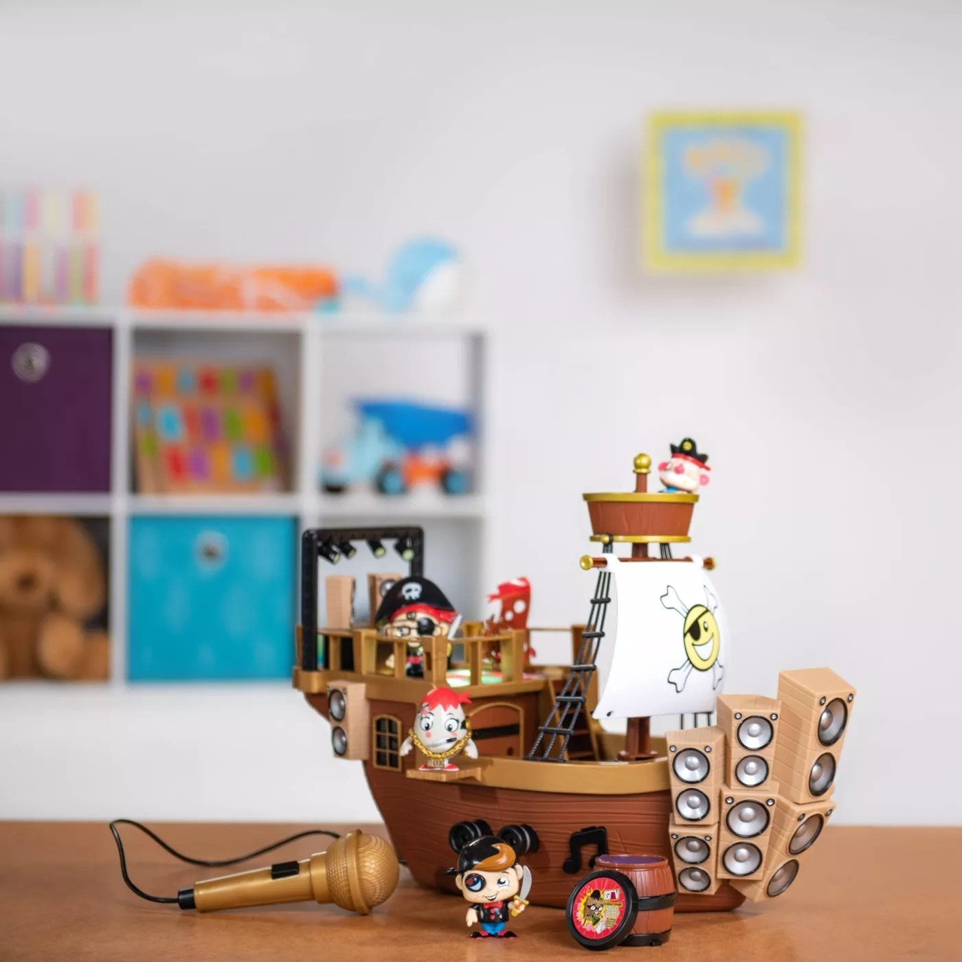 The toy ship