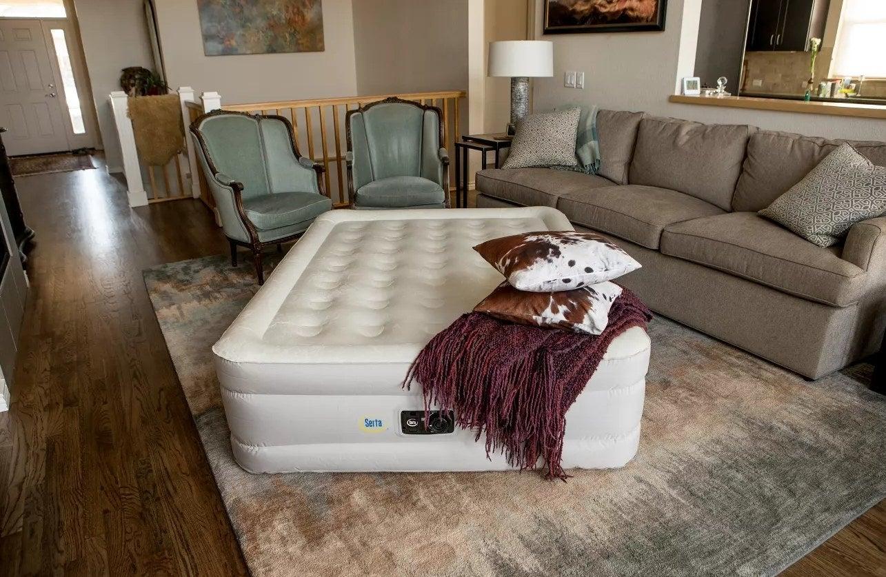 The Serta air mattress