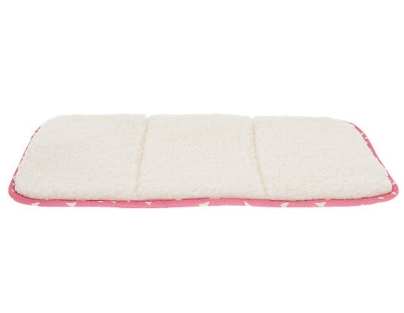 The pet crate mat in pink