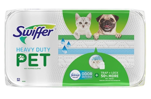 The wet pet swiffer cloth refill pack