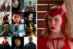 Wanda aka Scarlet Witch confused about who these Marvel characters are