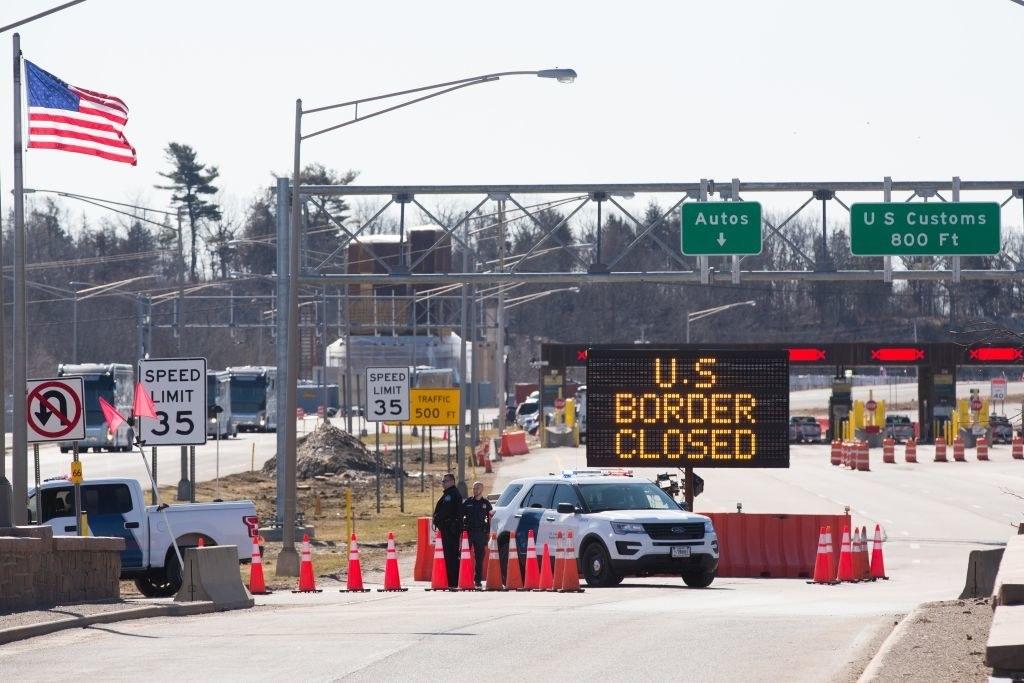 a closed border