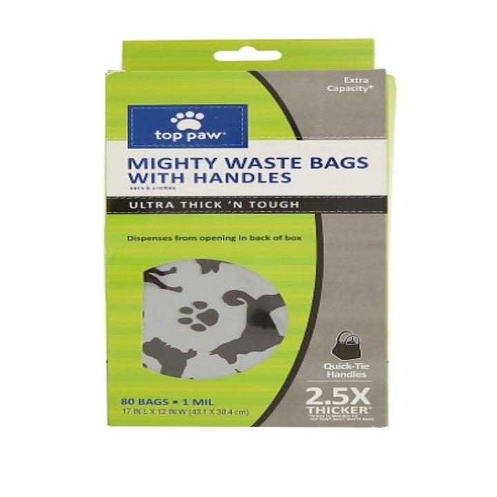 The package of dog waste bags