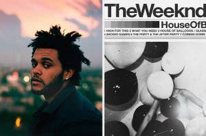 the weekend and his mixtape house of balloons