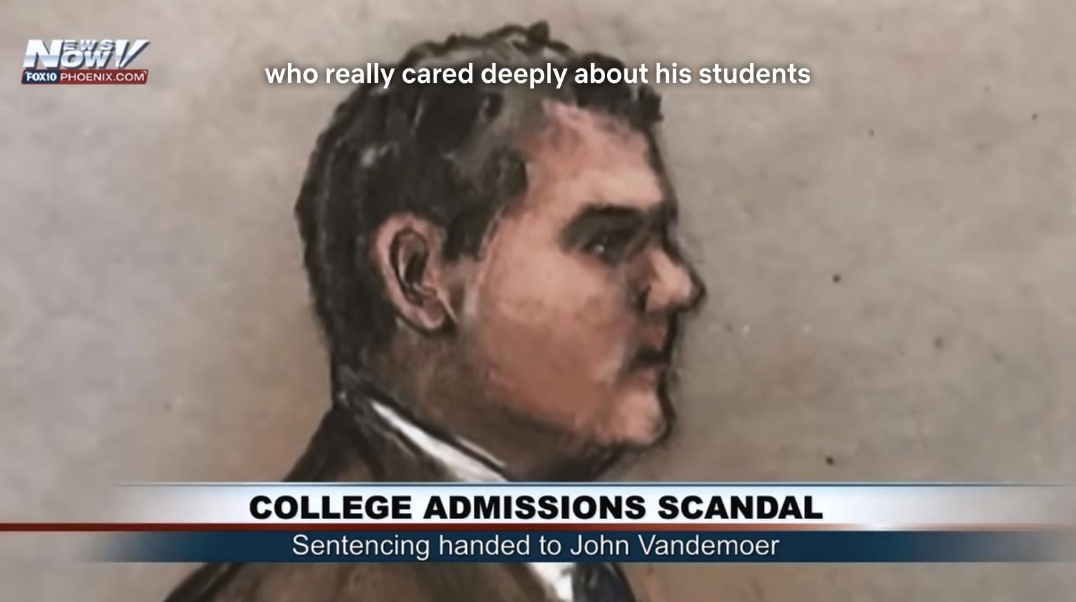 Trial art of John Vandemoer