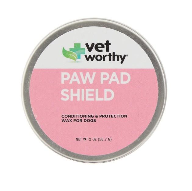 The paw pad shield wax