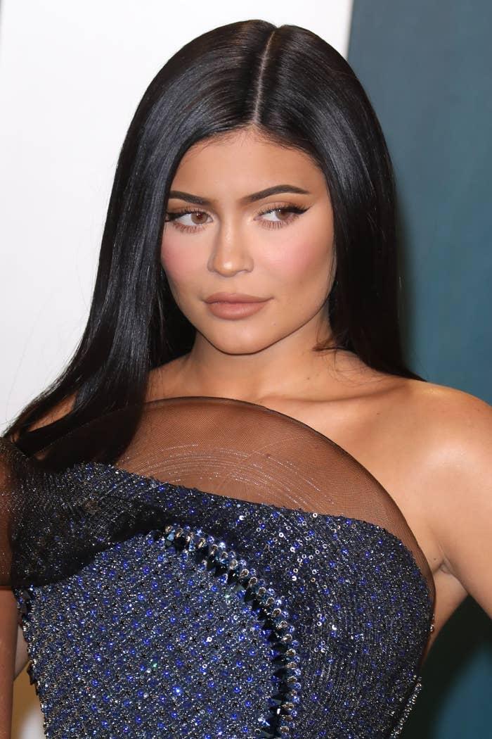 Kylie Jenner at the 2020 Vanity Fair Oscar Party