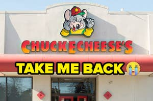 I miss going to Chuck E. Cheese