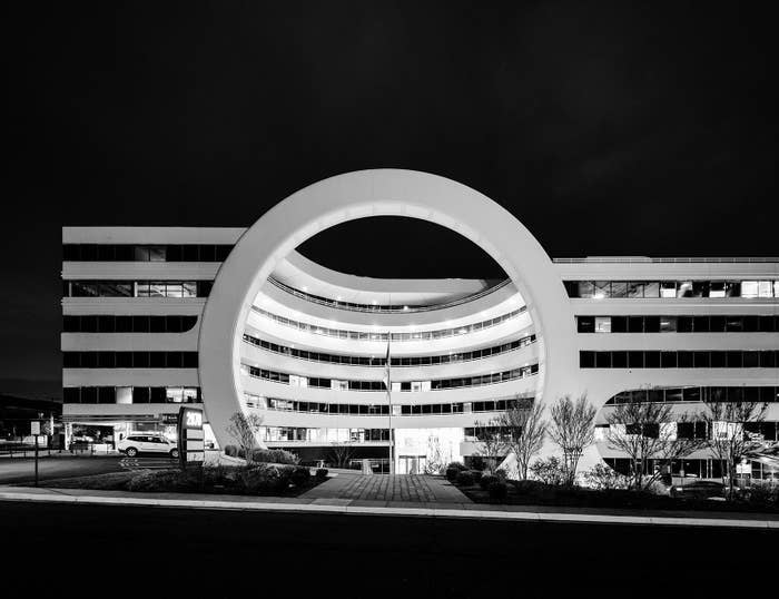 The headquarters for the Financial Crimes Enforcement Network, or FinCEN, a department within the US Treasury, in Vienna, Virginia.