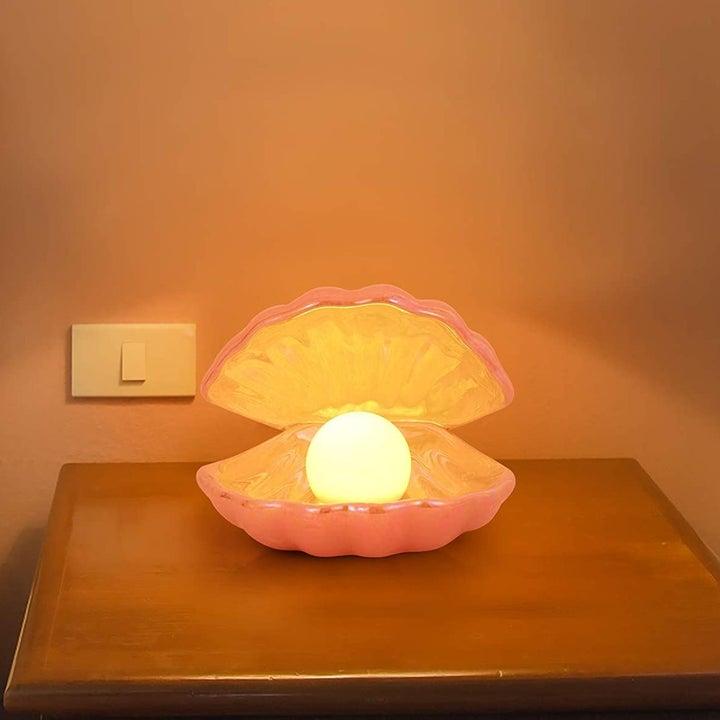 seashell lamp