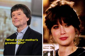 Ken Burns and Jess crying