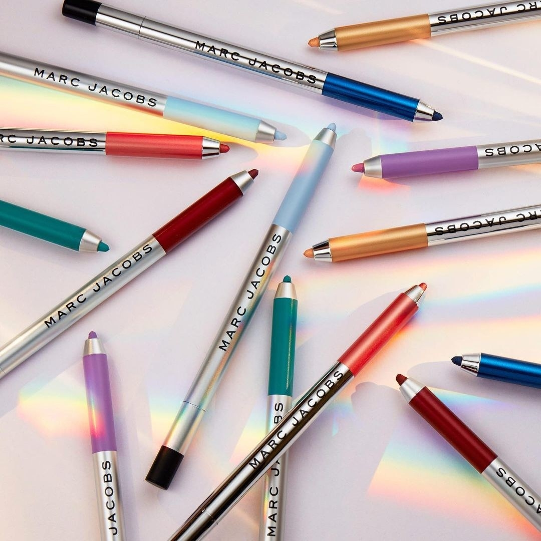 the eyeliners in multiple colors