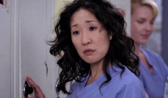 Cristina Yang looking puzzled