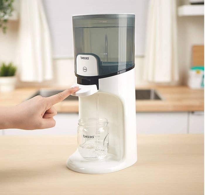 An instant warm water dispenser
