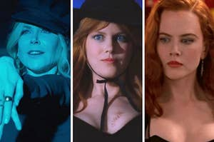 nicole kidman in the prom practical magic and moulin rouge