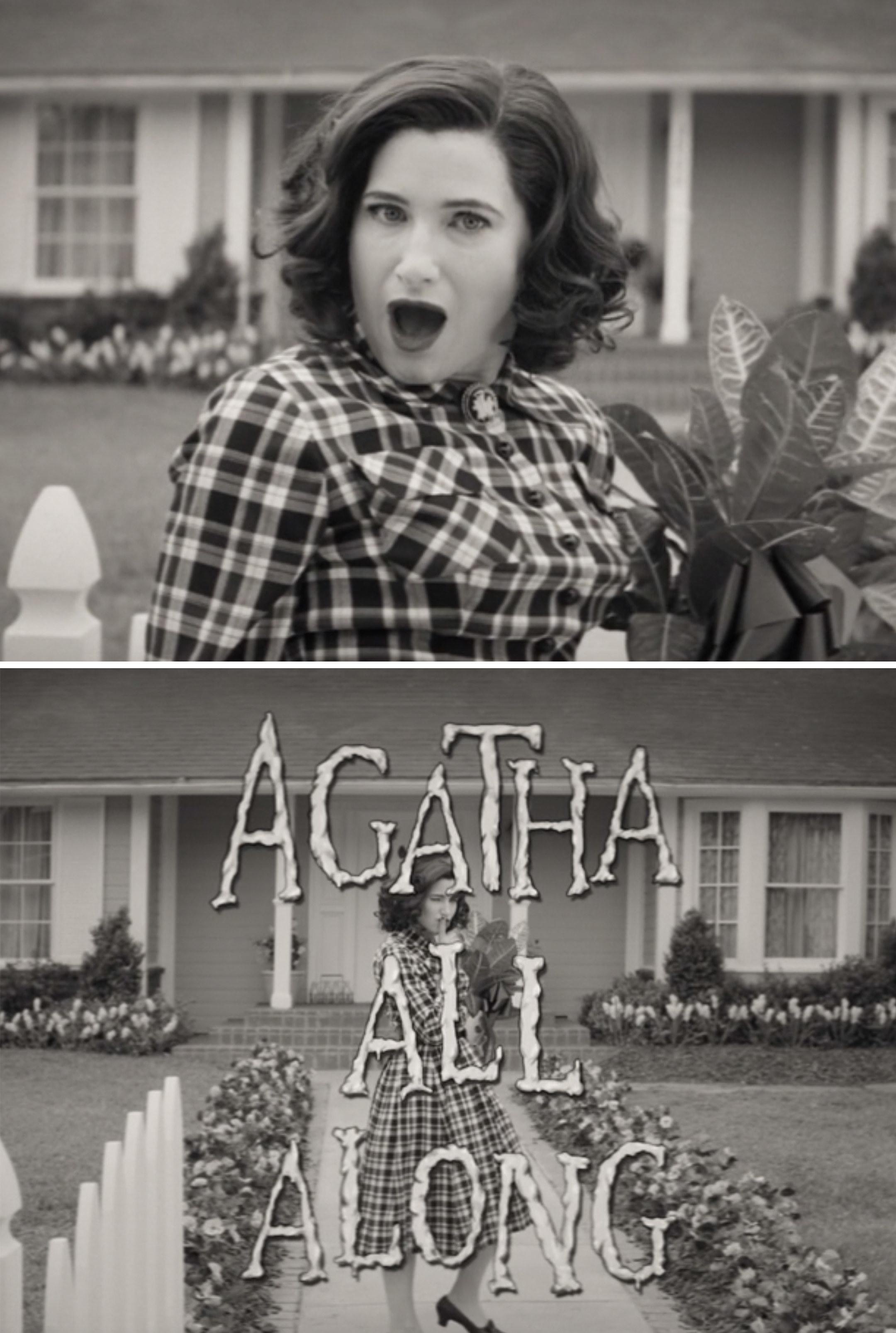 Agatha All Along title card