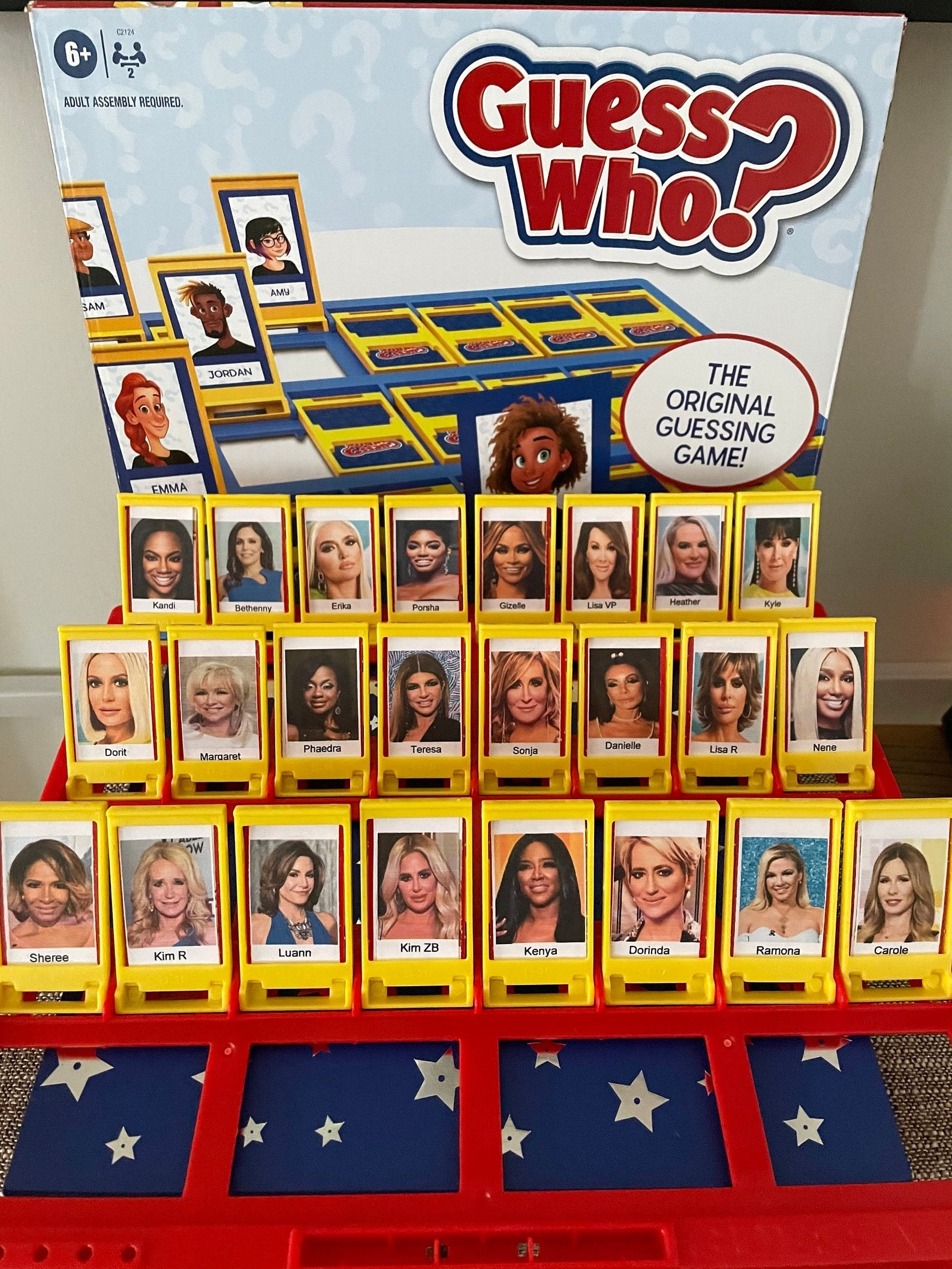real housewives guess who game
