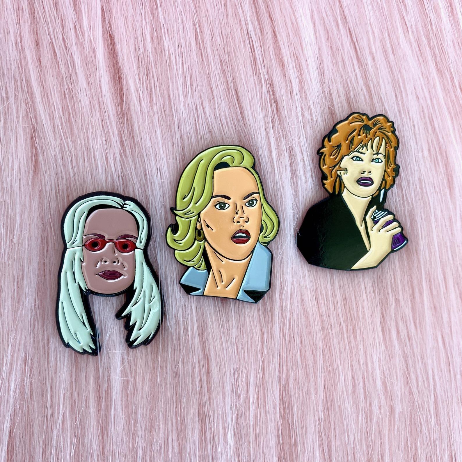 bad stepmothers pin set