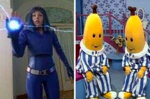 """Main character from """"Cybergirl"""" and the first version of """"Bananas in Pyjamas"""""""